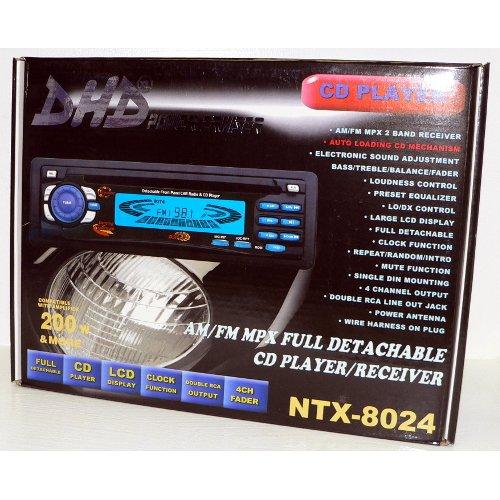 Dhd Ntx-8024 Am/Fm/Cd Receiver