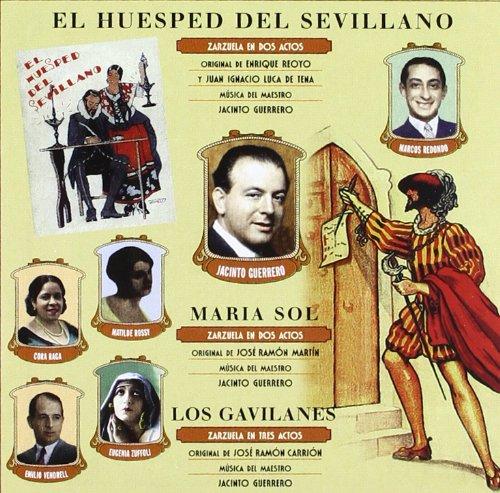 El Huesped Del Sevillano – Los Gavilanes – Maria Sol – VVAA – CD