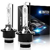 BEAMTECH D4S HID Bulbs, Xenon Headlight Replacement Bulb D4S D4R D4C 35W 6000K (Pack of 2) (Color: 6000K, Tamaño: D4S)