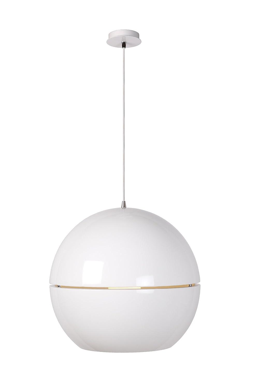 Lucide Seventies Hangeleuchte Durchmesser 50 cm, 1xE27, weiß 31435/50/31