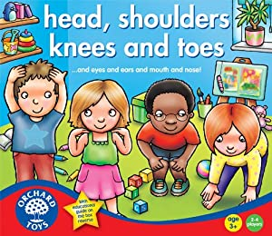 Heads, Shoulders, Knees and Toes by Orchard Toys