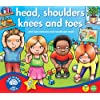Orchard Toys Head, Shoulder, Knees and Toes - Juego educativo infantil de aprendizaje de partes b�sicas del cuerpo humano