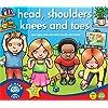 Orchard Toys Head, Shoulder, Knees and Toes - Juego educativo infantil de aprendizaje de partes básicas del cuerpo humano