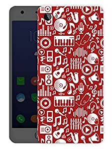 "Humor Gang Music Is My LifePrinted Designer Mobile Back Cover For ""Lenovo Zuk Z2"" (3D, Matte Finish, Premium Quality, Protective Snap On Slim Hard Phone Case, Multi Color)"