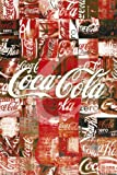 Empire 347688 Poster Advert Coca Cola Patchwork 61 x 91.5 cm