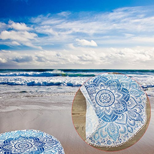 overmal-round-hippie-tapestry-beach-throw-towel-yoga-mat-bohemian-feature-multicolore