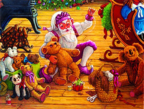 Countdown to Christmas 1000 Piece Jigsaw Puzzle by SunsOut Inc.