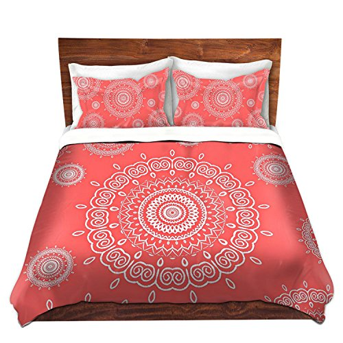 Coral Colored Bedding Sets front-1031945