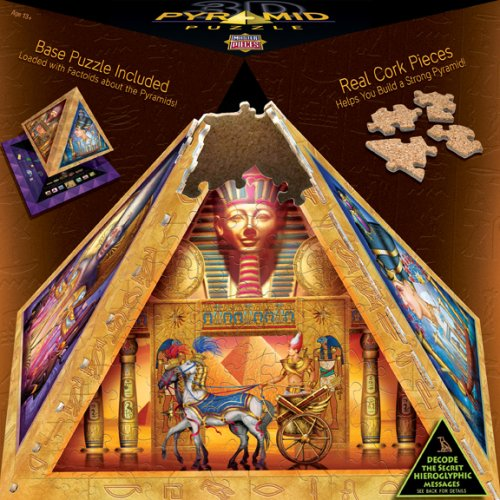 Cheap Fun MasterPieces Mysteries of the Pyramids 3D Pyramid Puzzle 365 Pieces (B001U8AQ2S)