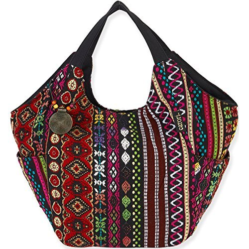 catori-shoulder-tote-215x65x145-tangiers-red-by-laurel-burch