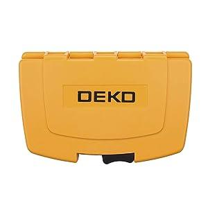 DEKO Screwdriver Bit Set,40 Piece Magnetic Impact Driver Bit Set