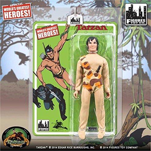 """Tarzan World's Greatest Heroes! Tarzan 8"""" Action FIgure"""