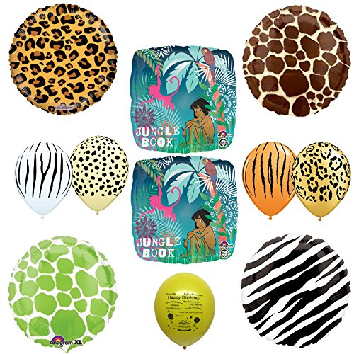 The Jungle Book Balloon Decoration Set