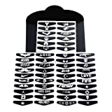 E-fire Game Light Bar Vinyl Stickers Decal Led Light Bar Cover 50 Different PCS for Sony Playstation 4 Dualshock 4 PS4 PS4 Slim PS4 Pro Controller Gamepad Skins Removable