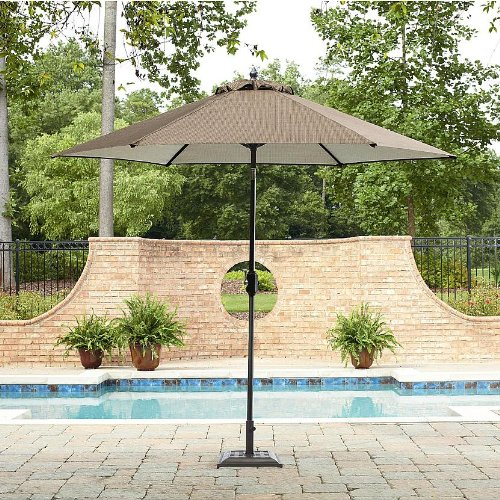 Garden Oasis Harrison 9 Patio Umbrella Sale Umbrellas Canopies