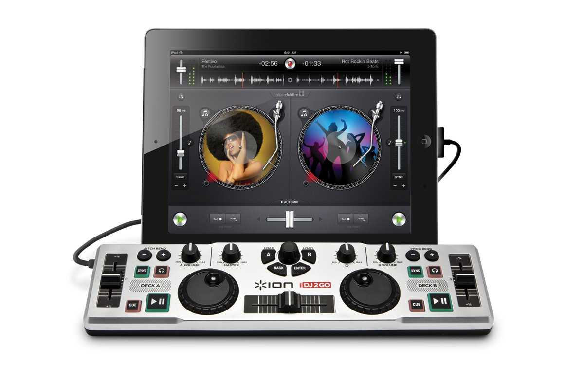 10 Best Affordable Professional DJ Controllers for iPad 2018