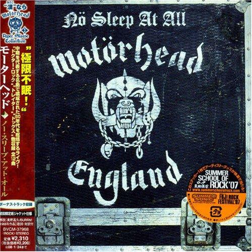MOTORHEAD - No Sleep at All - Zortam Music
