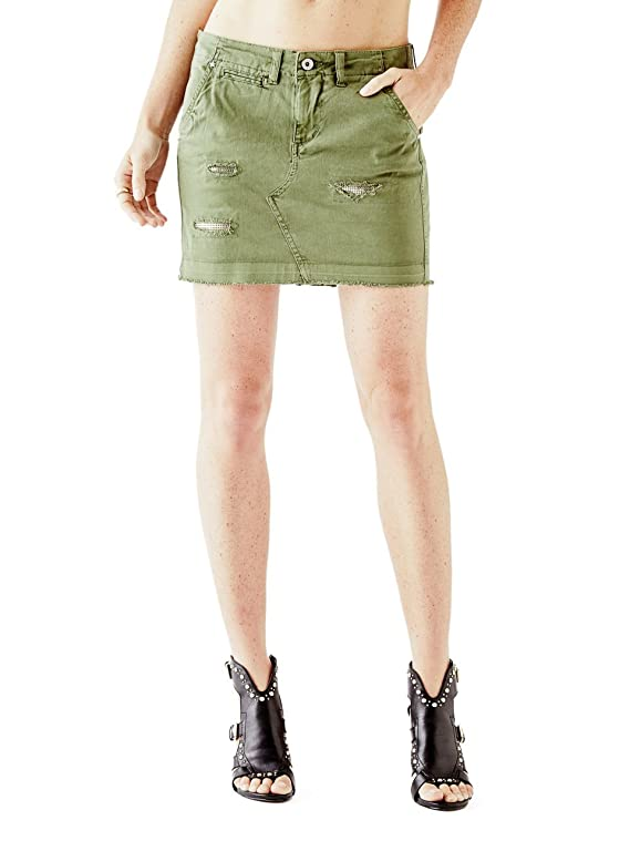 GUESS Women's Ashlin Cargo Skirt