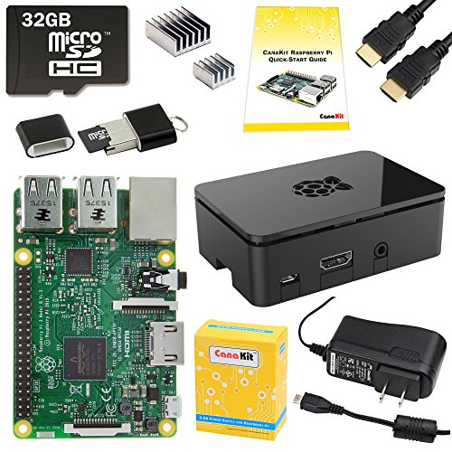 CanaKit Raspberry Pi 3 Complete Starter Kit – 32 GB Edition