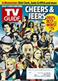 * ANNUAL CHEERS & JEERS ISSUE * 2012'S BEST & WORST * Andrew Lincoln, Larry Hagman, Jessica Lange - December 24, 2012 - January 6, 2013 DOUBLE ISSUE TV Guide Magazine