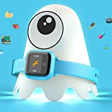 New! Octopus Watch v2 Motion Edition Teaches Kids Good Habits & Time - Encourages Active Play - The First Icon-Based Kids Smartwatch and Fitness Tracker (Blue) (Color: Blue)