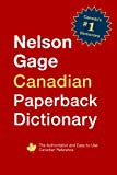 Nelson Gage Canadian Paperback Dictionary
