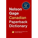 Nelson Gage Canadian Paperback Dictionaryby Nelson