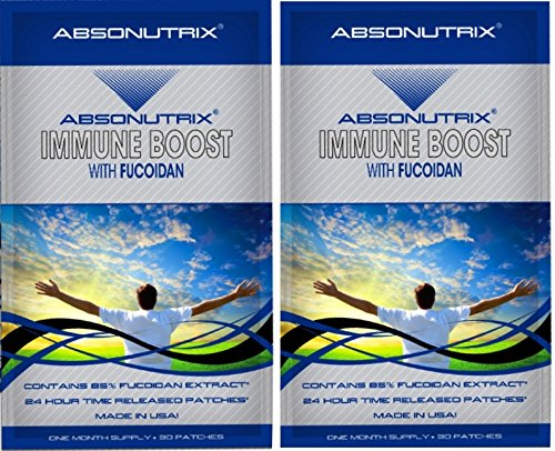 2 Absonutrix Immune Boost With Fucoidan Anti Oxidant 500Mg Brown Seaweed Topical