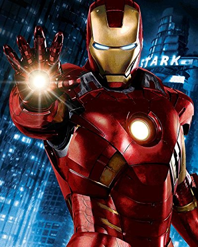 Marvel I Am Iron Man Signed by Lawrence Reynolds Framed Fine Art Canvas (Marvel Signed Framed compare prices)