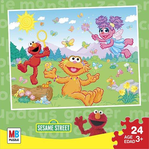 Cheap Hasbro Sesame Street Catching Butterflies Puzzle (B003K9ZWVA)