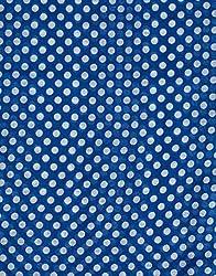 VB Woman's Scarf, fashionable - loop scarf with polka dots