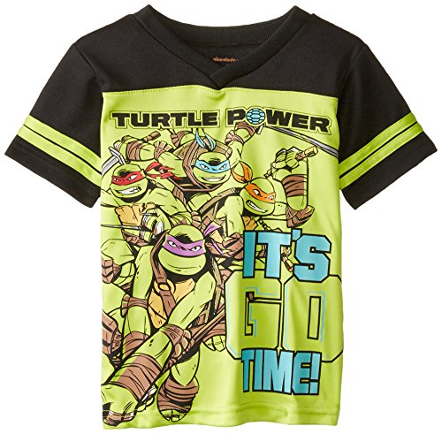 Nickelodeon Boys' Ninja Turtle Athletic Tee