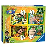 Tree Fu Tom 4 In A Box Jigsaws
