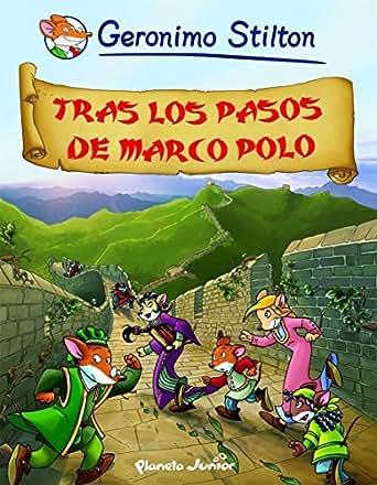 Amazon.com: Tras los pasos de Marco Polo: Cómic Geronimo Stilton 5