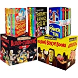 Anita Ganeri Horrible Collection 65 Books Collection Pack Set RRP: £219.75 (Horrible Histories: Blood-Curdling Box, Bulging Box of Books, Murderous Maths Collection 10 books Box Set, Horrible Geography Pack 10 books Set, Horribly Famous Box Set)