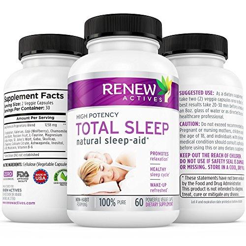 MAX puissance-aide au sommeil naturel pilules avec valériane & mélatonine ! Non-OGM. Battre l'insomnie & anxiété naturellement ! Non-accoutumance-aide au sommeil naturel. Obtenir le sommeil plu & plus profond que vous méritez !