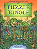 img - for Puzzle Jungle (Usborne Young Puzzles Books) book / textbook / text book