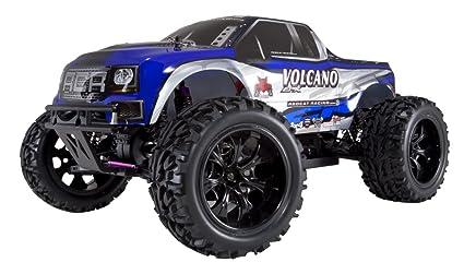 Redcat Racing Volcano EPX Camion électrique, Bleu/argenté, Échelle 1/10