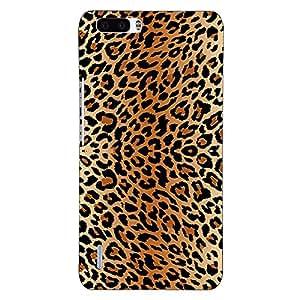 Jugaaduu Cheetah Leopard Print Back Cover Case For Honor 6 Plus
