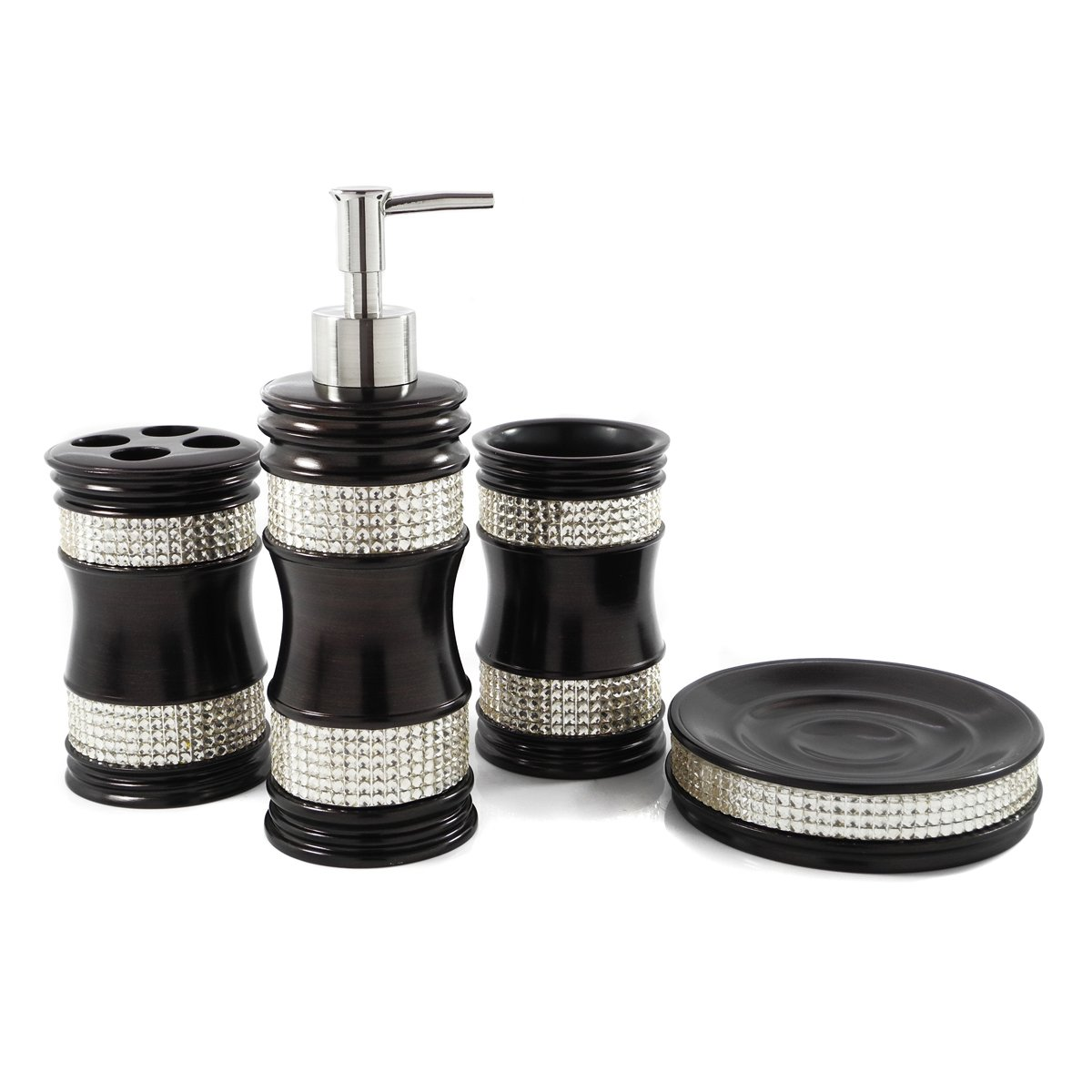 Luxury bath accessory sets images for Bathroom picture sets