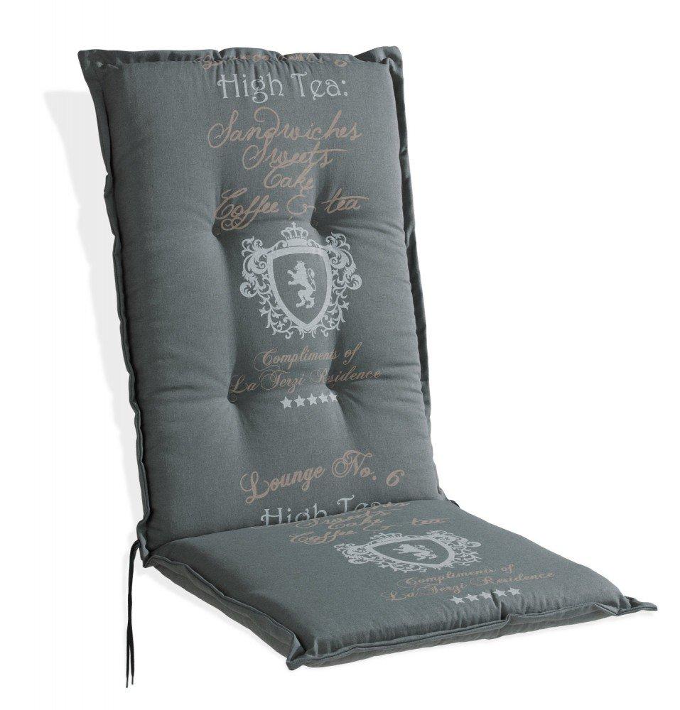 Sesselauflage Polsterauflage grau für Hochlehner Anton 1 kaufen