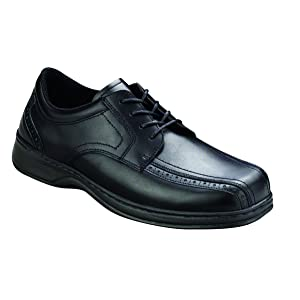 Orthofeet Gramercy Mens Extra Depth Orthopedic Arthritis And Diabetic Dress Shoes