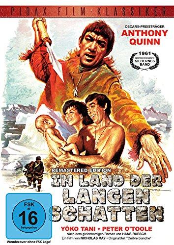 Im Land der langen Schatten (Ombre bianche) - Remastered Edition / Preisgekrönter Abenteuerfilm mit Anthony Quinn und Peter O'Toole (Pidax Film-Klassiker)