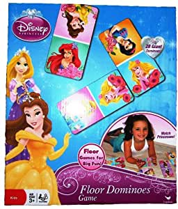 Amazon Com Disney Princess Floor Dominoes Game Toys Amp Games
