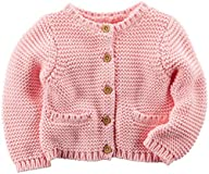 Carter's Baby Girls' Sweater (Baby) -…