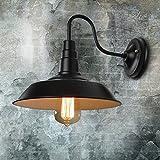 LUMICON® Restoration New Sleek Industrial Vintage Wall Mount Pendant Chandelier Black