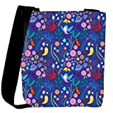 Snoogg Bird Floral Patterns Womens Carry Around Cross Body Tote Handbag Sling Bags