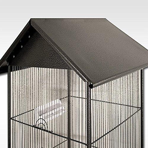 metall vogelvoliere voliere vogelk fig k fig vogelhaus. Black Bedroom Furniture Sets. Home Design Ideas