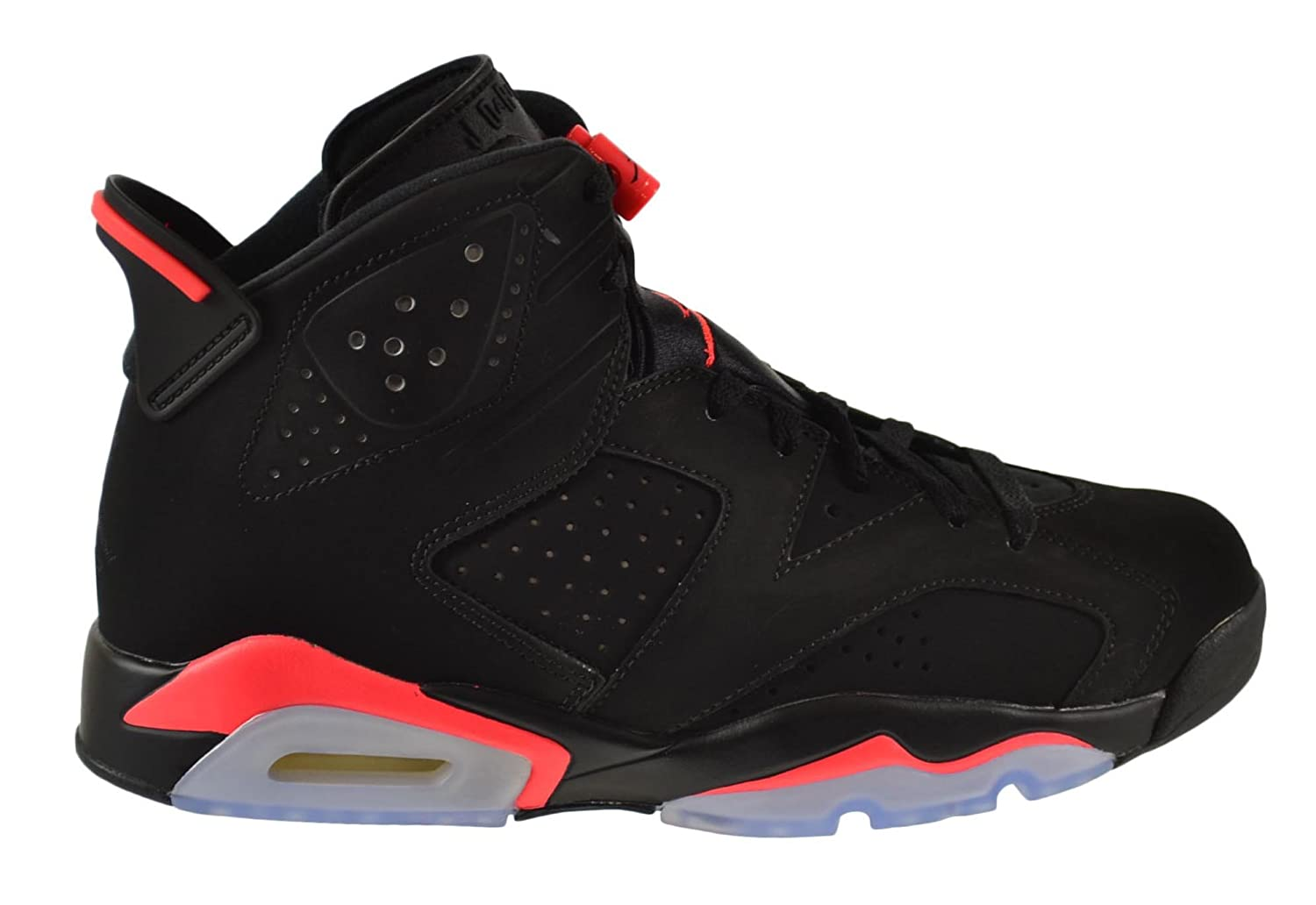 Air Jordan 6 Retro Men\\u0026#39;s Shoes Black/Infrared 384664
