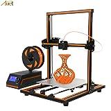 Anet E12 3d printer, Aluminum Frame High precision Desktop 3D Printer Kits Reprap DIY Kit Set Off-line Printing Free 10m Filament - Support ABS/PLA/HIP Filament